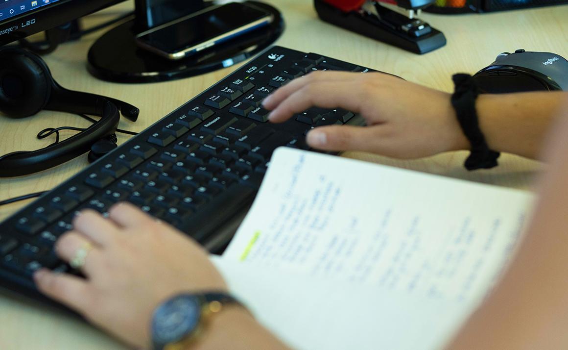 Commis soutien administratif et logistique (mandat temporaire à durée indéterminée)