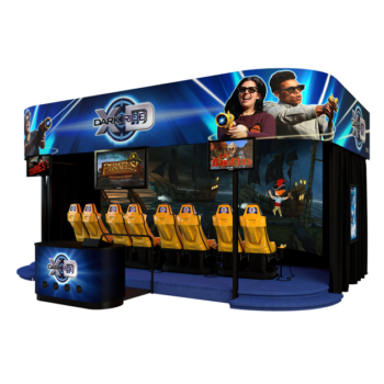 XD Dark Ride : attraction interactive