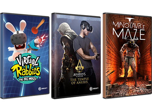 A growing selection of games