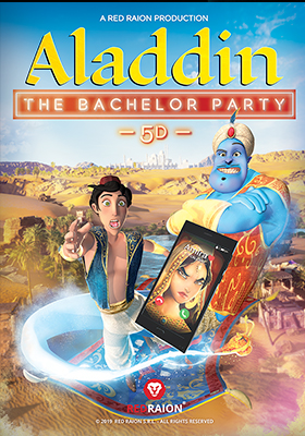 Aladdin - The Bachelor Party 5D