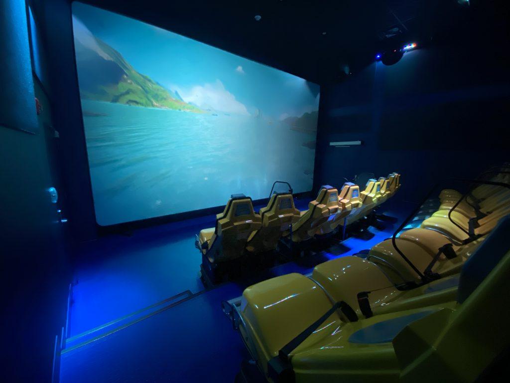 Immersive 5D Theater Aquarium