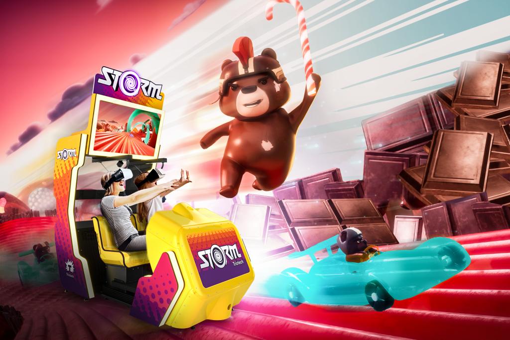 Sugary Slope interactive movie Storm simulator