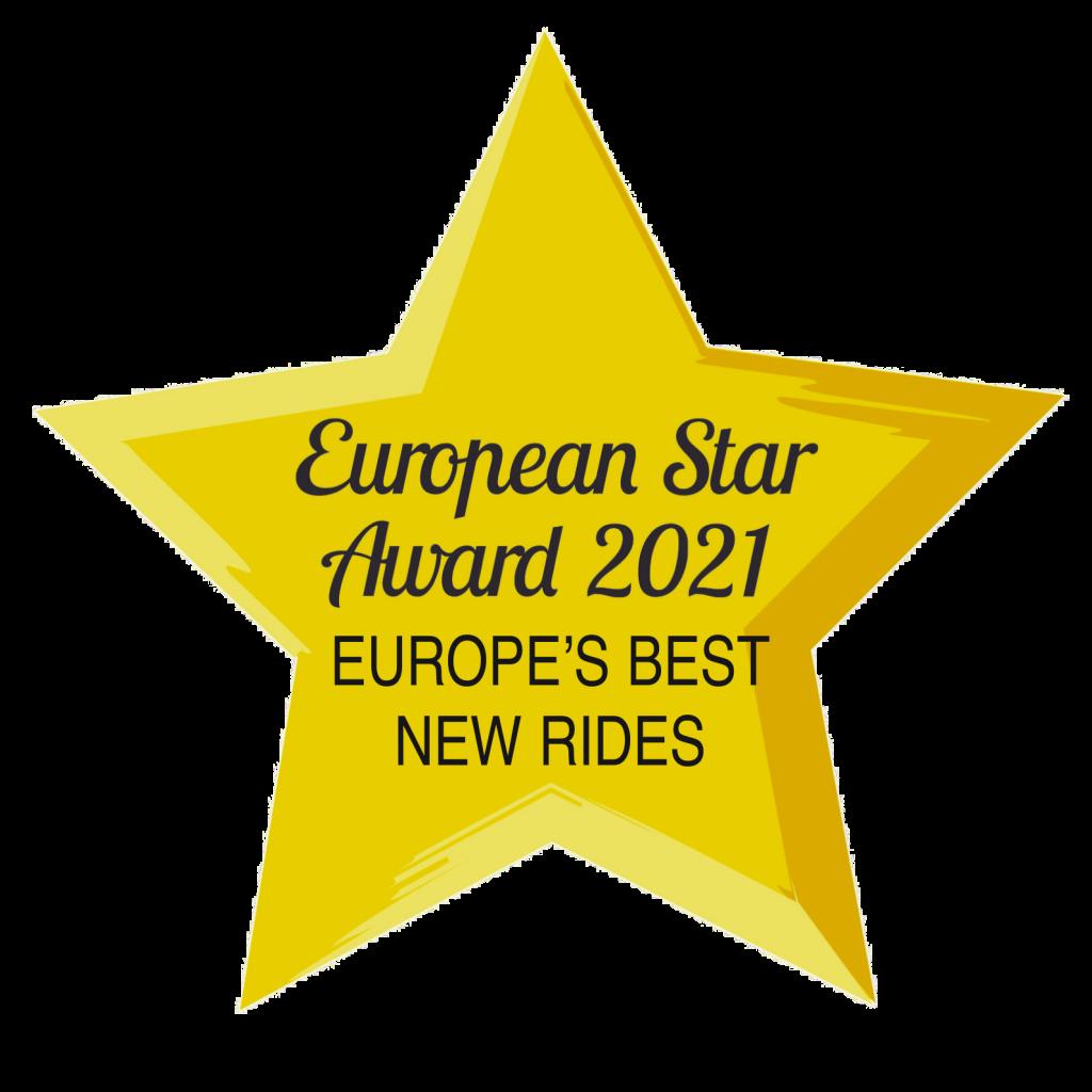 European Star Award 2021 Best New Rides